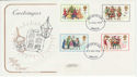1978-11-22 Christmas Stamps Bristol FDC (58426)