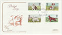 1979-02-07 Dogs Stamps Bristol FDC (58427)