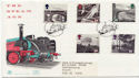 1994-01-18 Age of Steam Railway Waterloo FDC (58444)
