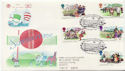 1994-08-02 Summertime Stamps London WC1 FDC (58450)