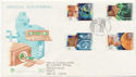 1994-09-27 Medical Discoveries Stamps Cambridge FDC (58451)