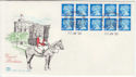 1990-01-30 JC1 10 x 15p H Imperf Bklt Windsor FDC (58464)