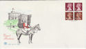 1991-09-10 FB59 x925m Definitive Bklt Stamps Windsor FDC (58465)