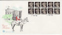 1990-04-17 JD2 SG 1478 Litho Questa Bklt Windsor FDC (58468)