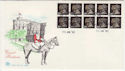 1990-01-30 JD1 10 x 20p H Imperf Bklt Windsor FDC (58470)