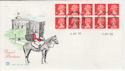 1993-04-06 HD9 SG1666 Bklt Pane Stamps Windsor FDC (58475)