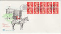 1990-08-07 HD4 1514 Bklt Stamps Windsor FDC (58485)