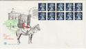 1990-08-07 HC3 1511a Bklt Stamps Windsor FDC (58487)