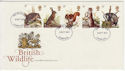 1977-10-05 Wildlife Stamps Liverpool FDC (58532)