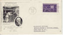 1944-10-31 USA Motion Pictures Stamp FDC (58538)