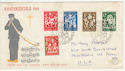 1962 Netherlands Child Welfare FDC (58560)