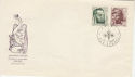 1966 Czechoslovakia Artists Stamps FDC (58587)