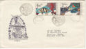 1975 Czechoslovakia Fish Stamps FDC (58609)