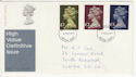 1977-02-02 High Value Definitive Croydon FDC (58678)