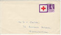 1963-08-15 Red Cross 3d Stamp Northampton cds FDC (58725)