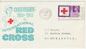 1963-08-15 Red Cross Northampton Slogan FDC (58726)