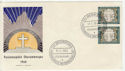 1960 Germany Passion Festival Stamps FDC (58735)