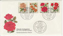 1982 Germany Roses Stamps FDC (58749)
