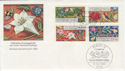 1985 Germany Berlin Welfare Flowers etc FDC (58751)