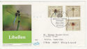 1991 Germany Dragonflies Stamps FDC (58754)