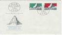 1965 Switzerland Alps Stamps FDC (58790)