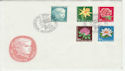 1964 Switzerland Pro Juventute Flowers FDC (58795)
