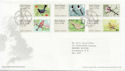 2011-01-24 Birds Post and Go Stamps T/House FDC (58801)