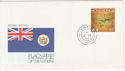 1990 Hong Kong Flags of the Nations Souv (58812)