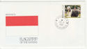 1991 Monaco Flags of The Nations Souv (58814)