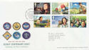 2007-07-26 Scout Centenary Stamps Brownsea FDC (58921)