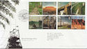 2005-04-21 World Heritage Sites Blenheim FDC (58940)