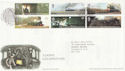 2004-01-13 Classic Locomotives York FDC (58948)