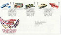 2003-09-18 Transports of Delight Stamps Toye FDC (58962)