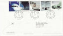 2002-05-02 Airliners Stamps Heathrow Airport FDC (58972)