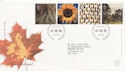 2000-08-01 Tree and Leaf Stamps Bureau FDC (58983)