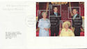2000-08-04 Queen Mother M/S Bureau FDC (58984)