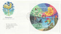 2001-03-13 Weather Stamps M/S Bureau FDC (58987)