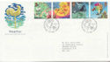 2001-03-13 Weather Stamps Bureau FDC (58988)