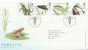 2001-07-10 Pond Life Stamps T/House FDC (58994)