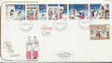 1973-11-28 Christmas Stamps Northampton FDC (59019)