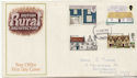 1970-02-11 Rural Architecture Stamps Portsmouth FDC (59032)