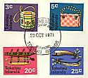 1971-10-20 Handicrafts Definitive FDC (5906)