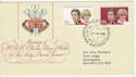 1981-07-29 Charles and Diana Wedding FDC (59112)