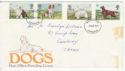 1979-02-07 Dog Stamps Cambridge FDI (59129)