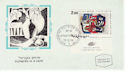 1970-12-22 Israel Flower Paintings Stamp Card FDC (59145)
