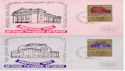 1970-09-07 Israel Festival x5 Stamp Cards FDC (59149)