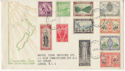 1946 New Zealand Peace Stamps FDC (59205)