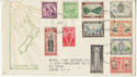 1946 New Zealand Peace Stamps FDC (59206)