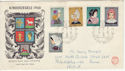 1960 Netherlands Costumes Stamps FDC (59215)