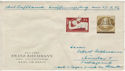 1956 Germany Stamps on Envelope (59317)